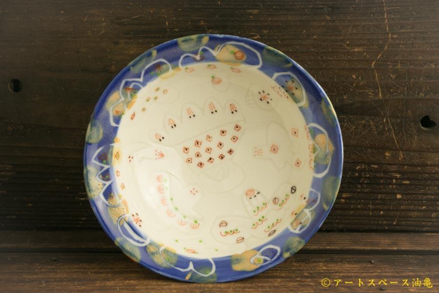 画像1: 浜坂尚子「カラフル カレー皿(鉢)」