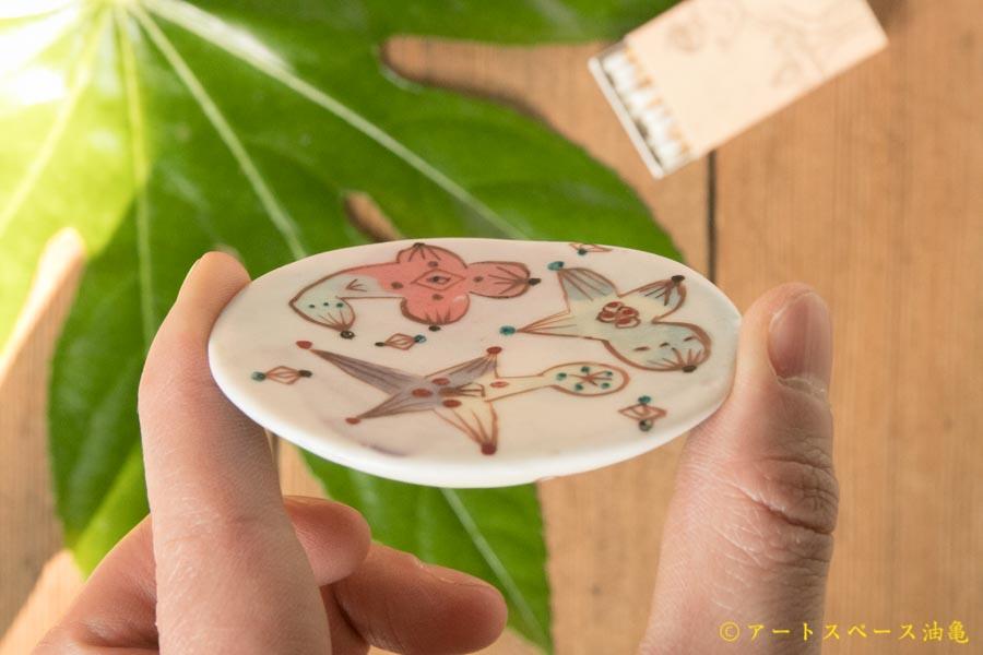 画像3: 浜坂尚子 色絵豆皿