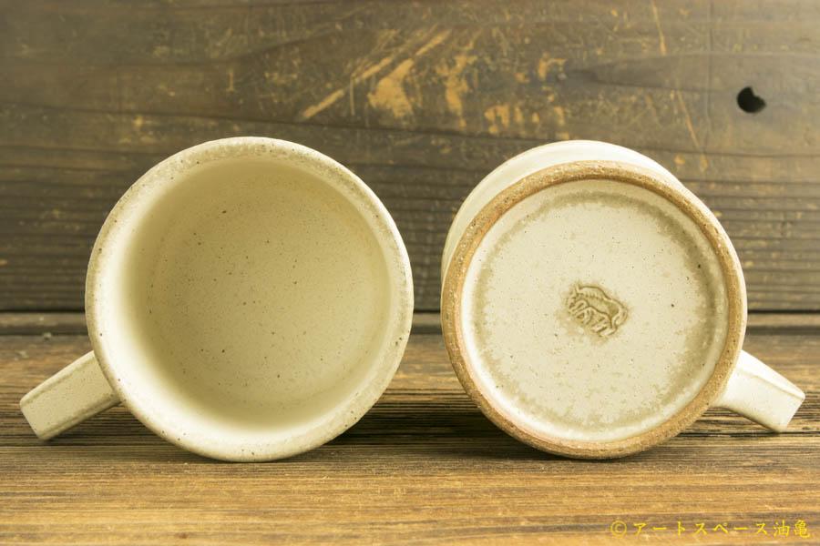 画像3: 長谷川哲也 コーヒーカップ 白【アソート作品】