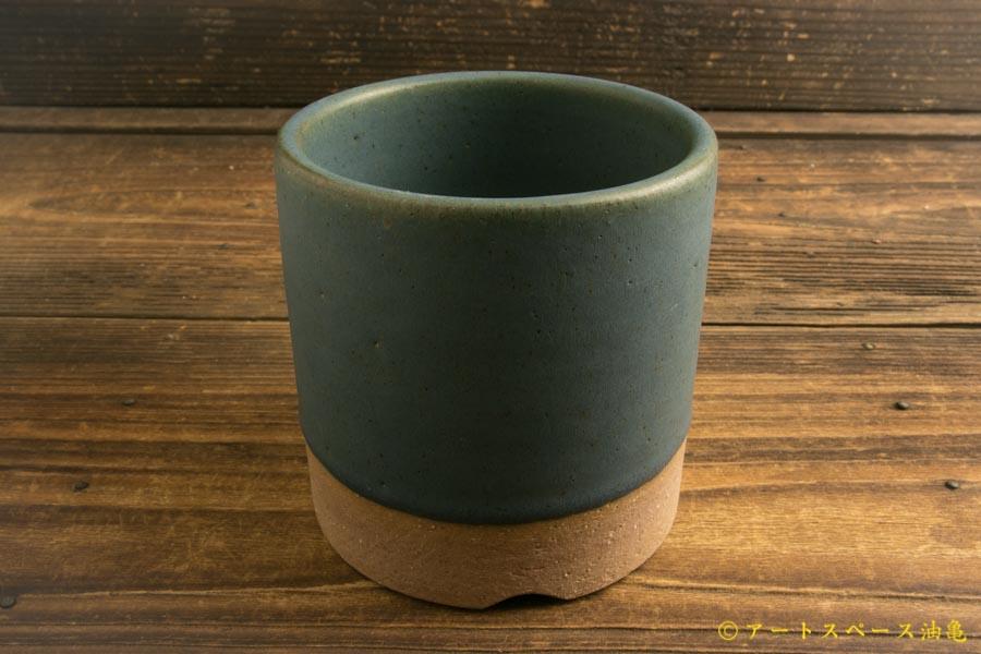 画像1: 長谷川哲也「植木鉢4号 青」