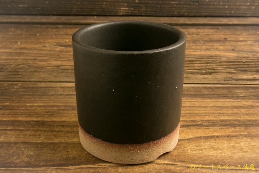 画像1: 長谷川哲也「植木鉢3号 黒」
