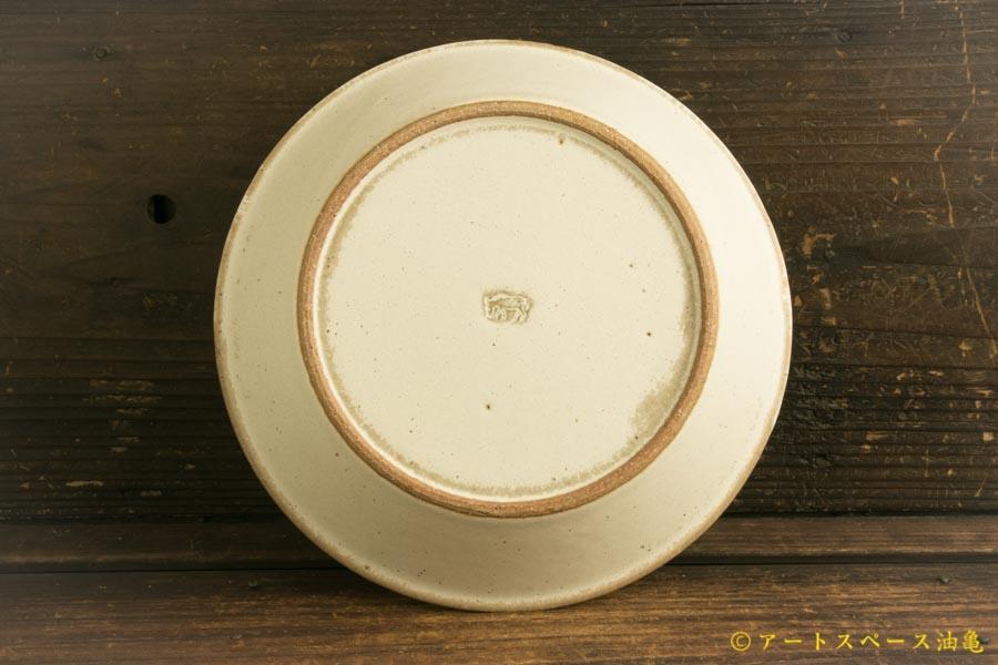 画像3: 長谷川哲也「浅鉢 21cm 白」