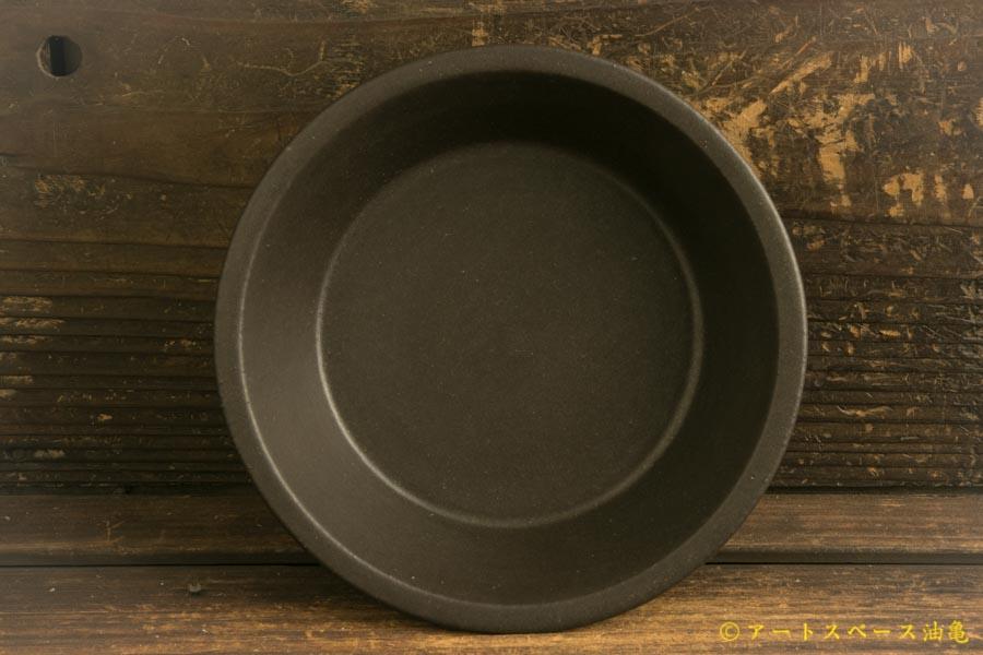 画像2: 長谷川哲也「浅鉢 15cm 黒」
