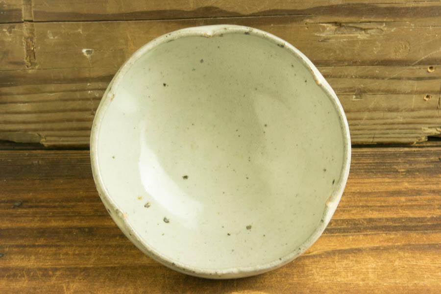 画像2: 八田亨「青粉引4寸輪花鉢」