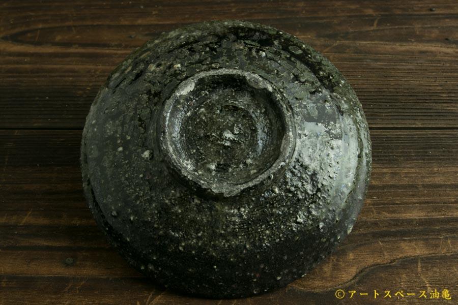 画像4: 八田亨「黒三島 5寸皿」