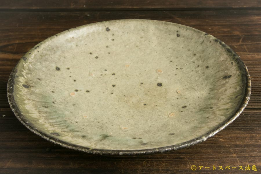 画像2: 八田亨「白掛 7.5寸皿」