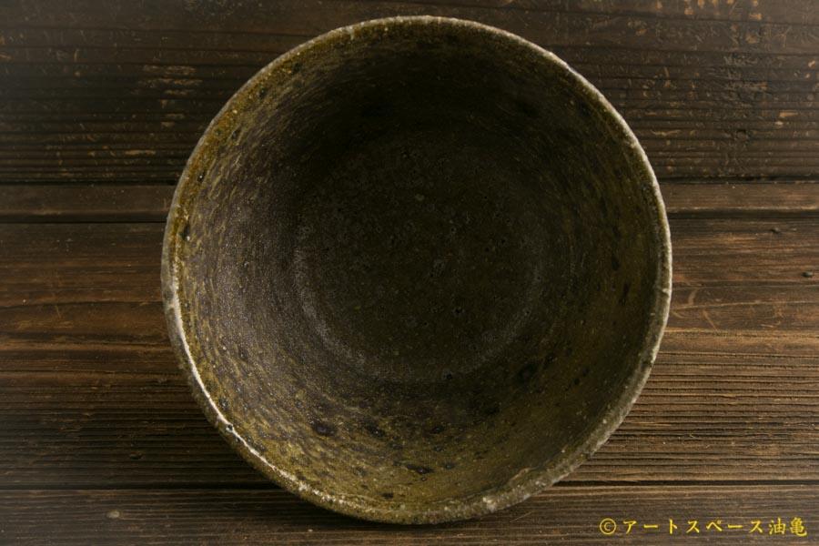 画像4: 八田亨「黒三島手 深鉢」