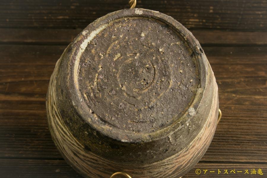 画像5: 八田亨「黒三島手 深鉢」