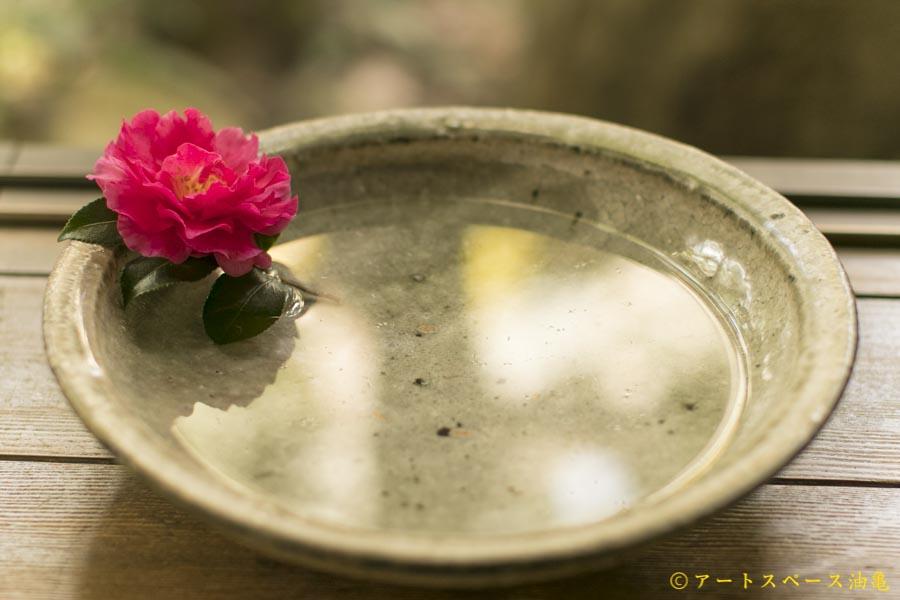 画像1: 八田亨「白掛 石皿」