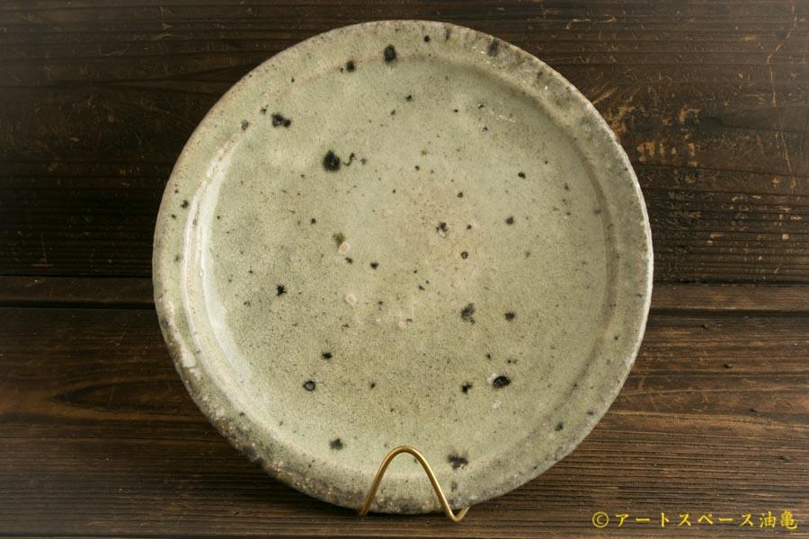 画像3: 八田亨「白掛 リム皿M」