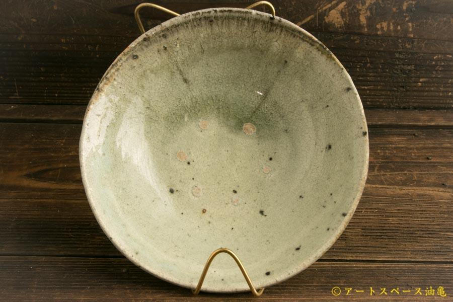 画像2: 八田亨「白掛 6.5寸盛鉢」