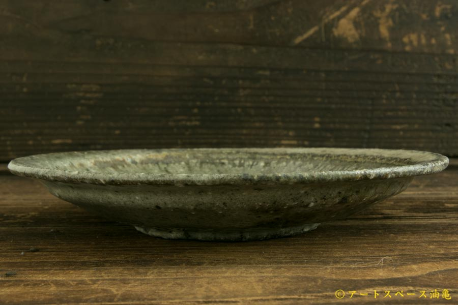画像5: 八田亨「白掛 リム皿S」