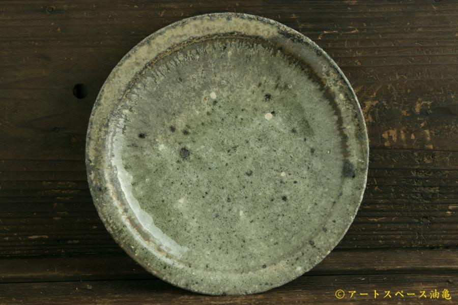 画像3: 八田亨「白掛 リム皿S」