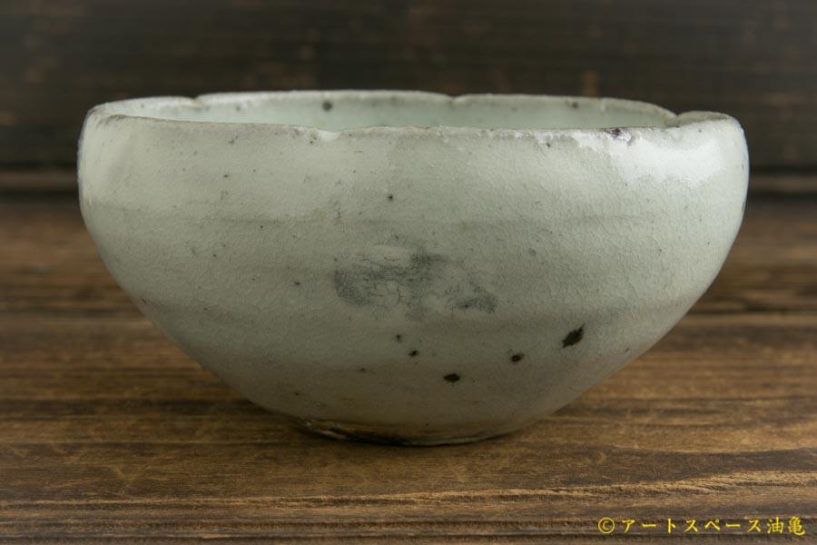 画像3: 八田亨「青粉引 3寸輪花鉢」