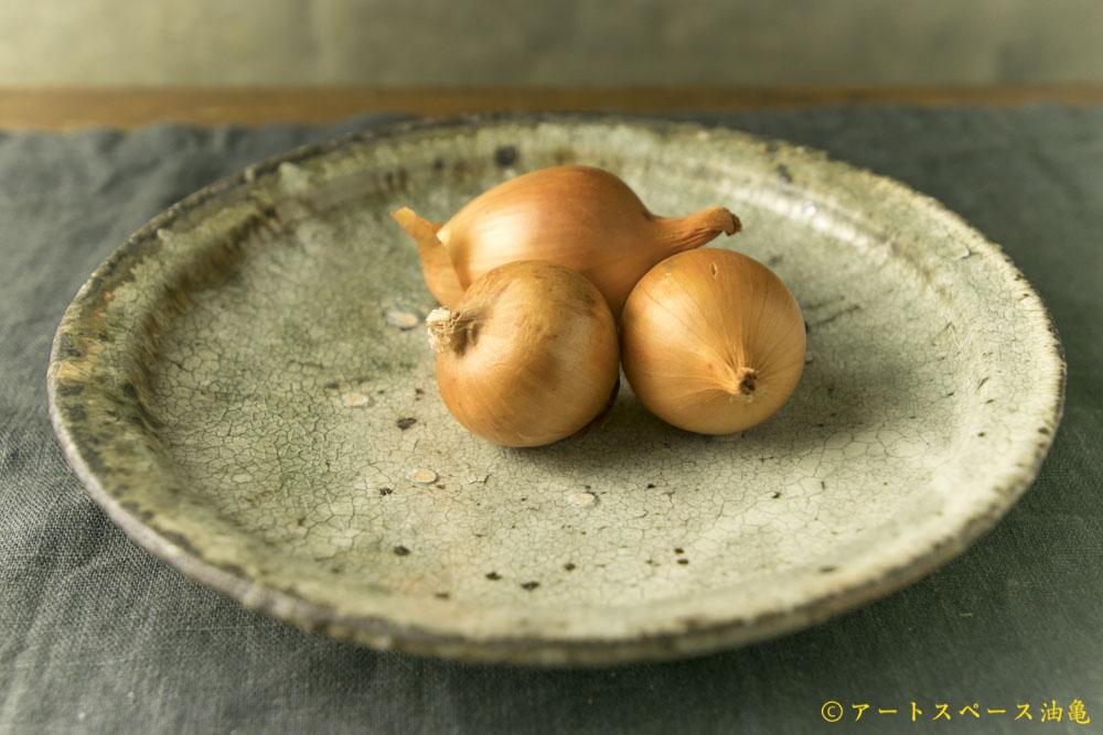 アートスペース油亀企画展 寺村光輔のうつわ展「陰翳礼讃」DM