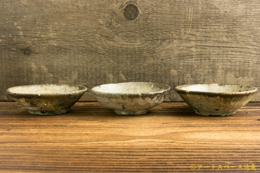 画像3: 八田亨「白掛豆皿」