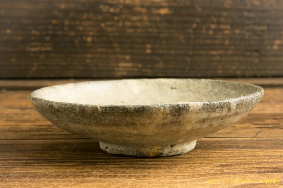 画像3: 八田亨「白掛4寸皿」