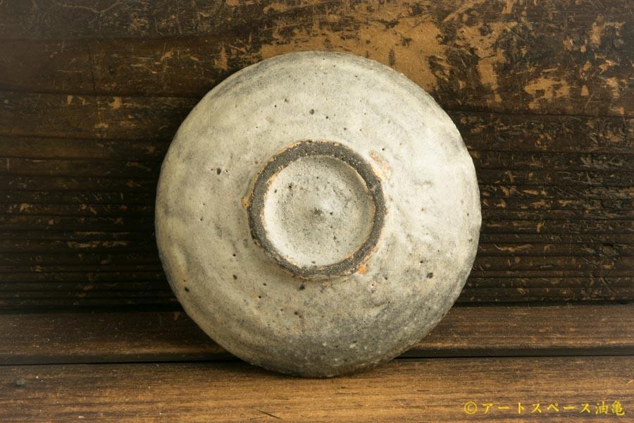 画像4: 八田亨「白掛4寸皿」