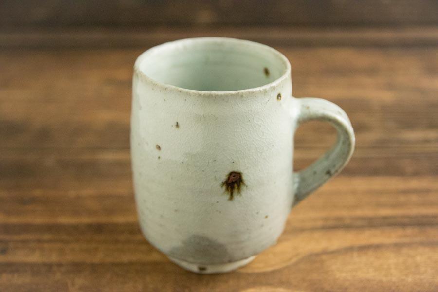 画像1: 八田亨 「粉引マグカップ 小」