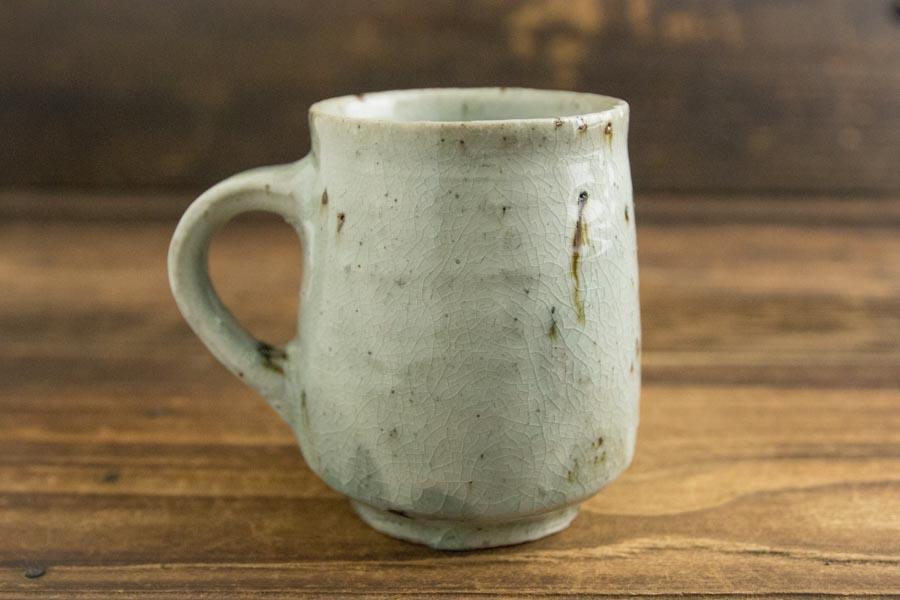 画像2: 八田亨 「粉引マグカップ 小」