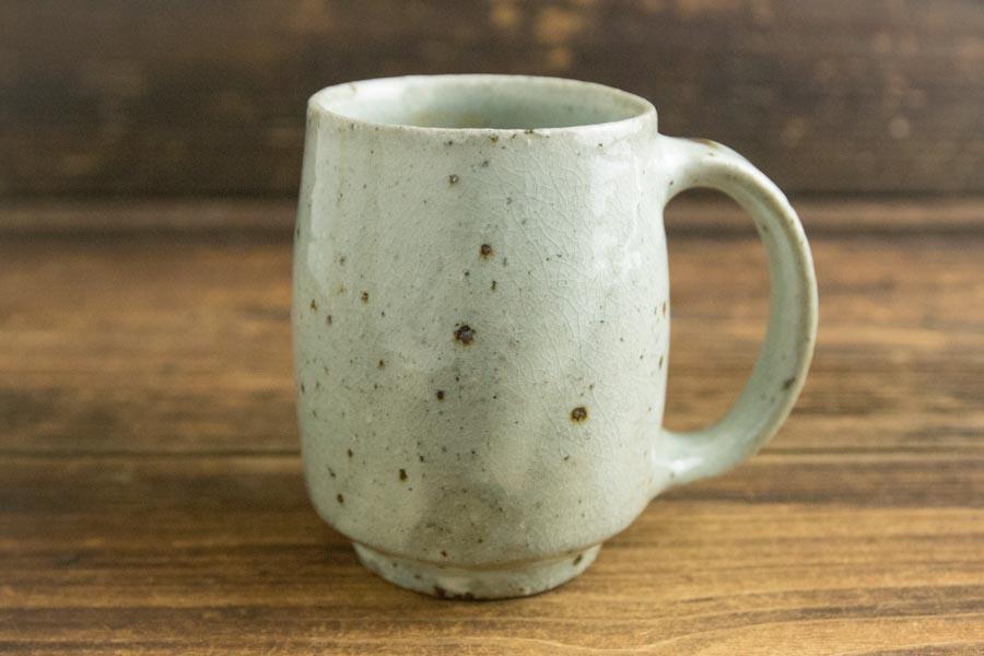 画像1: 八田亨 「粉引マグカップ 大」