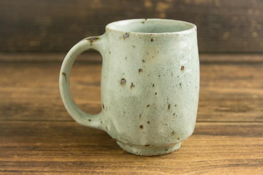 画像2: 八田亨 「粉引マグカップ 大」