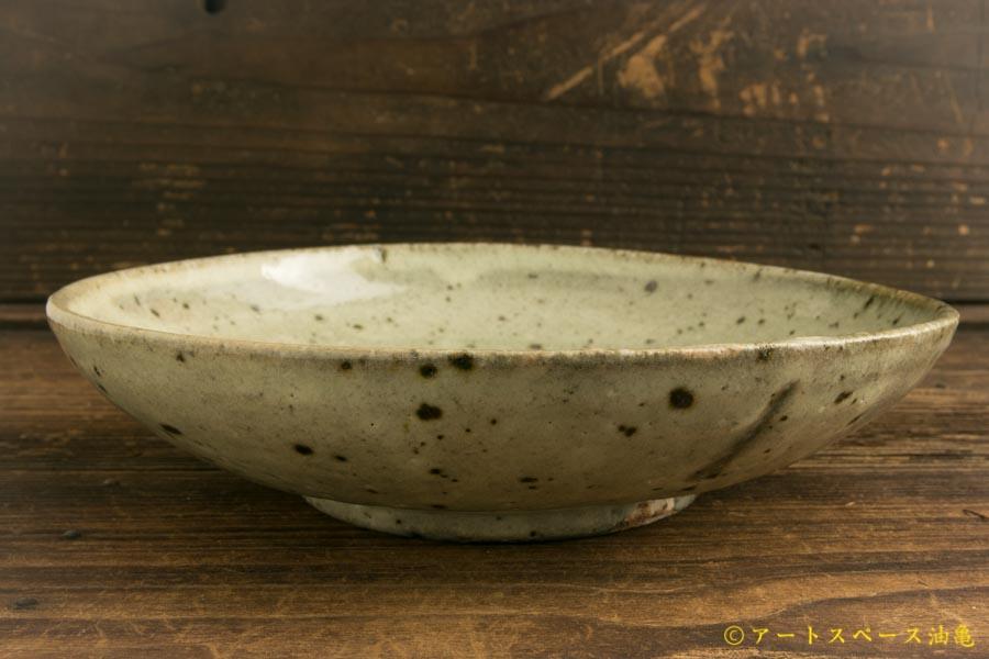 画像1: 八田亨「白掛 盛鉢」