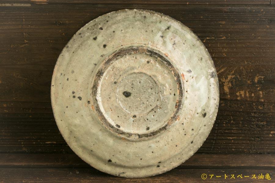 画像5: 八田亨「白掛 リム皿M」