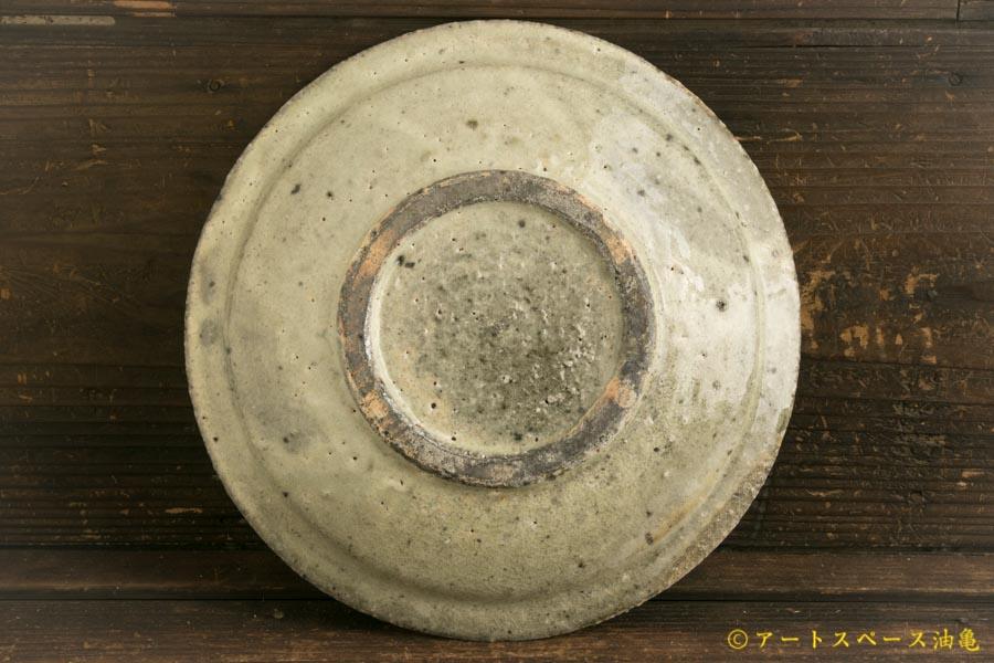 画像4: 八田亨「白掛 リム皿M」