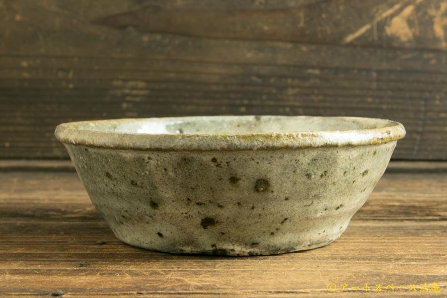 画像3: 八田亨「白掛 玉縁鉢(小)」