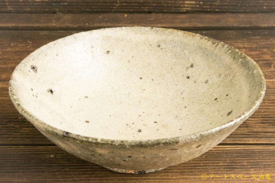 画像2: 八田亨「白掛 6寸鉢」