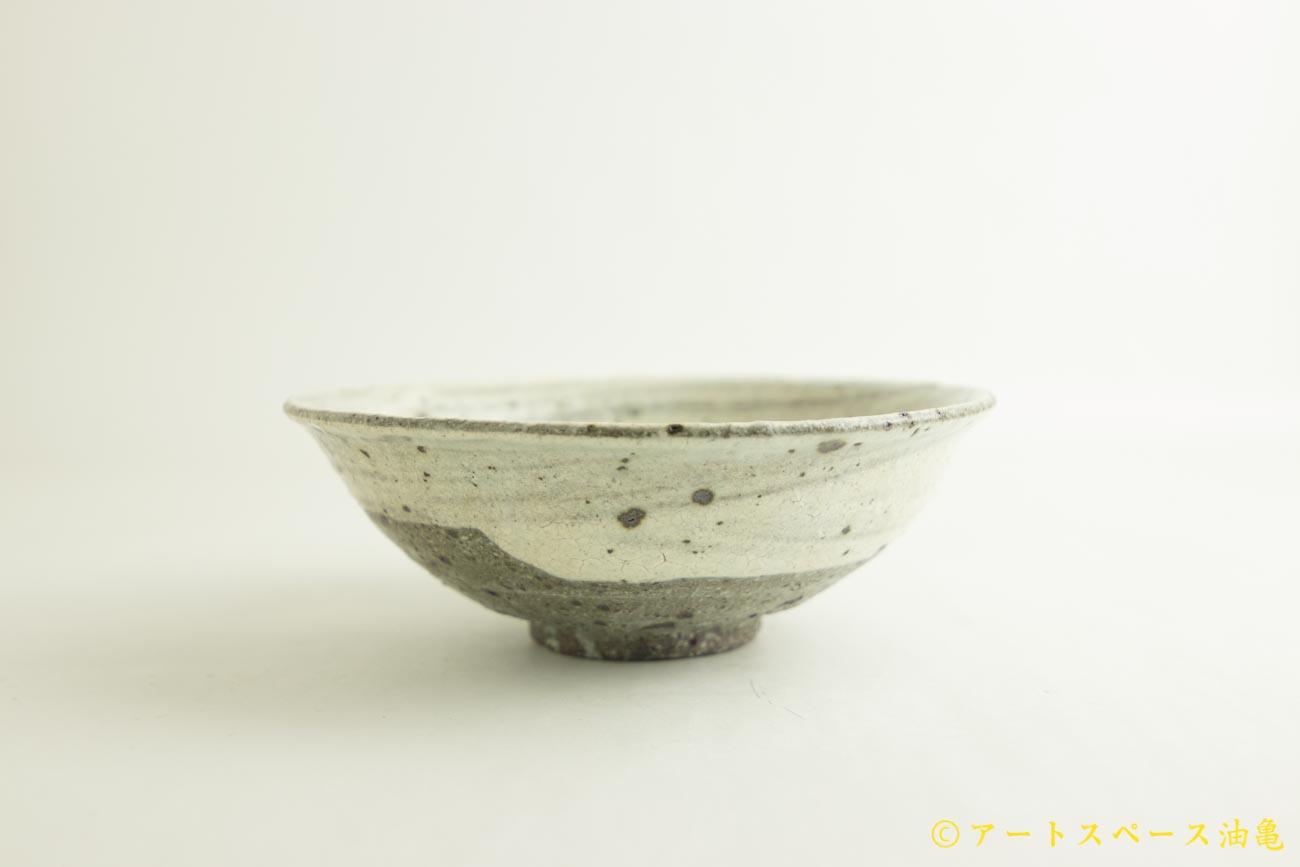 画像1: 八田亨「粉引 6寸鉢」