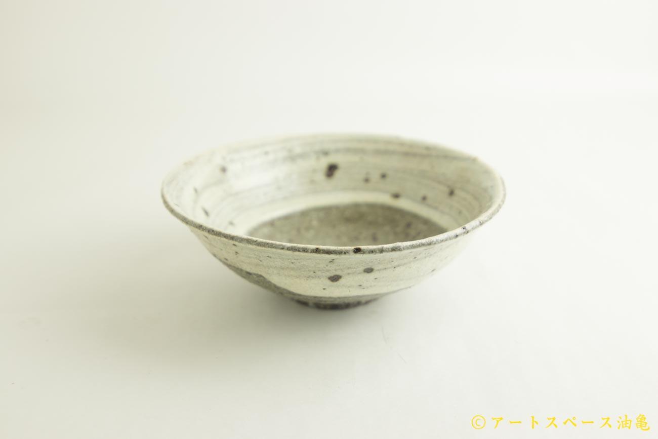 画像2: 八田亨「粉引 6寸鉢」