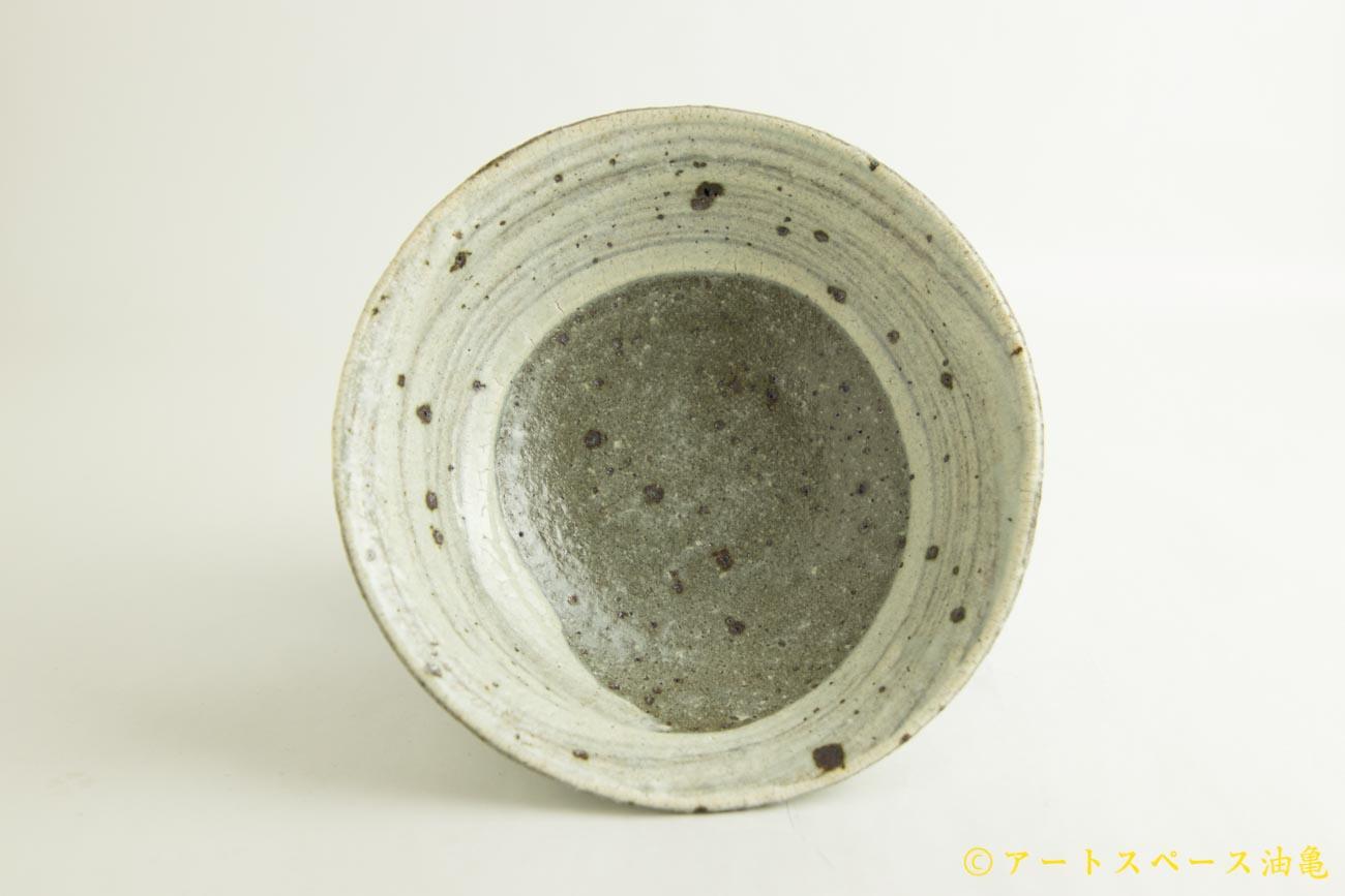 画像3: 八田亨「粉引 6寸鉢」