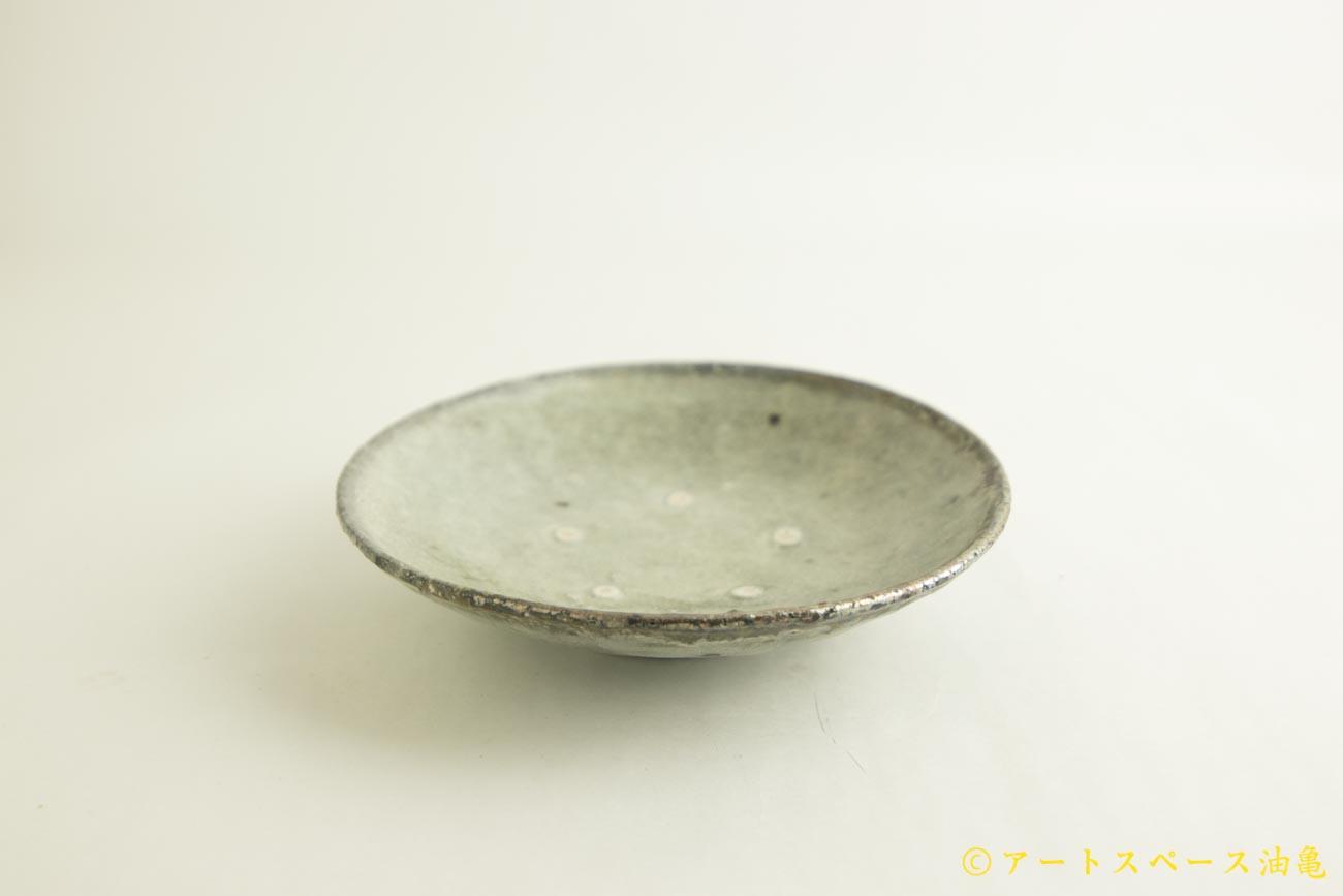 画像2: 八田亨「白掛 6寸皿」