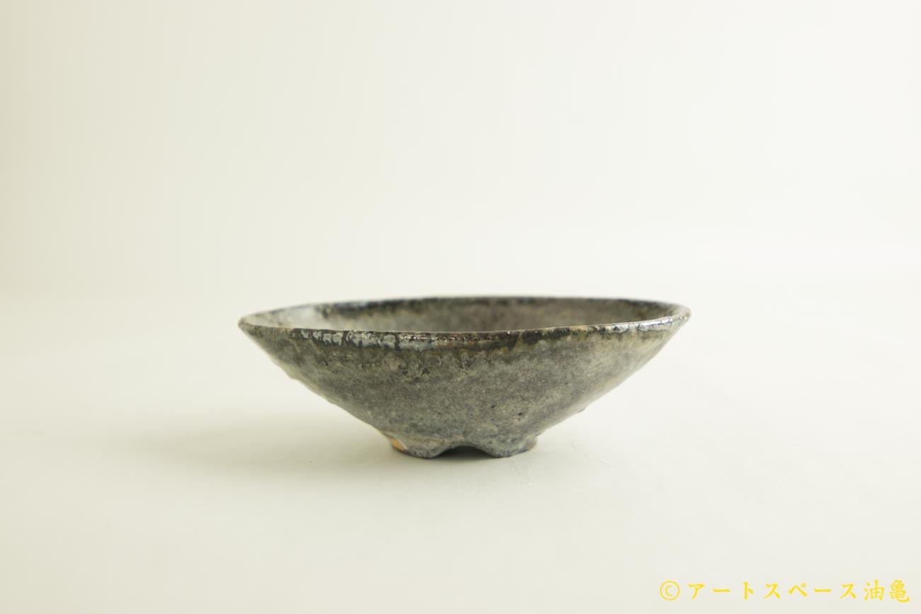 画像1: 八田亨「白掛 オーバルプレート 小」