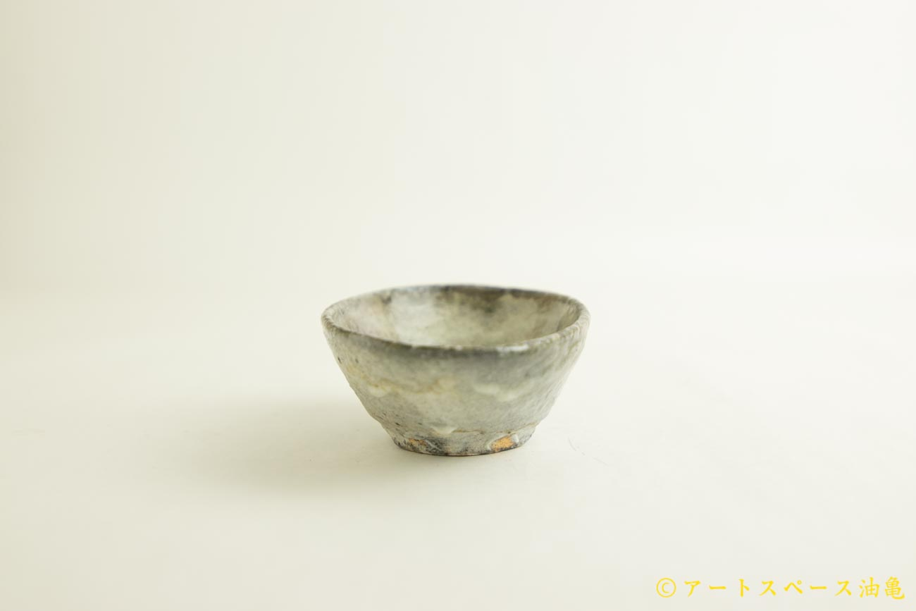 画像2: 八田亨「白掛 オーバルプレート 小」