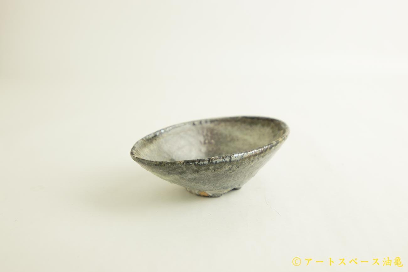 画像3: 八田亨「白掛 オーバルプレート 小」