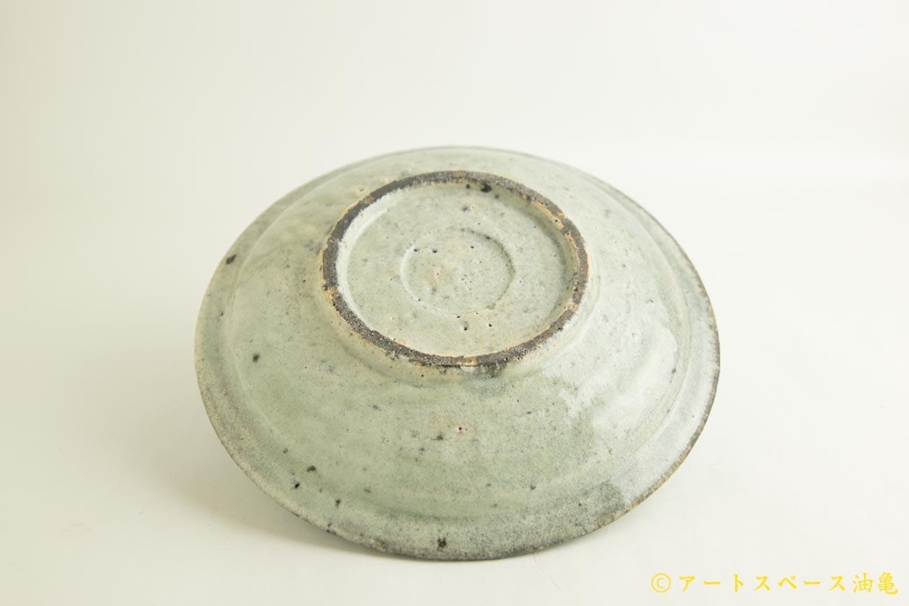 画像4: 八田亨「白掛 8寸リム皿」