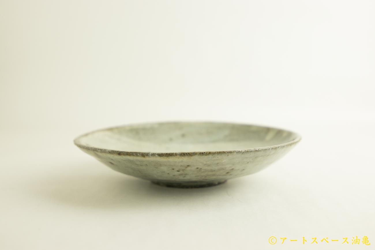 画像3: 八田亨「白掛 7寸皿」