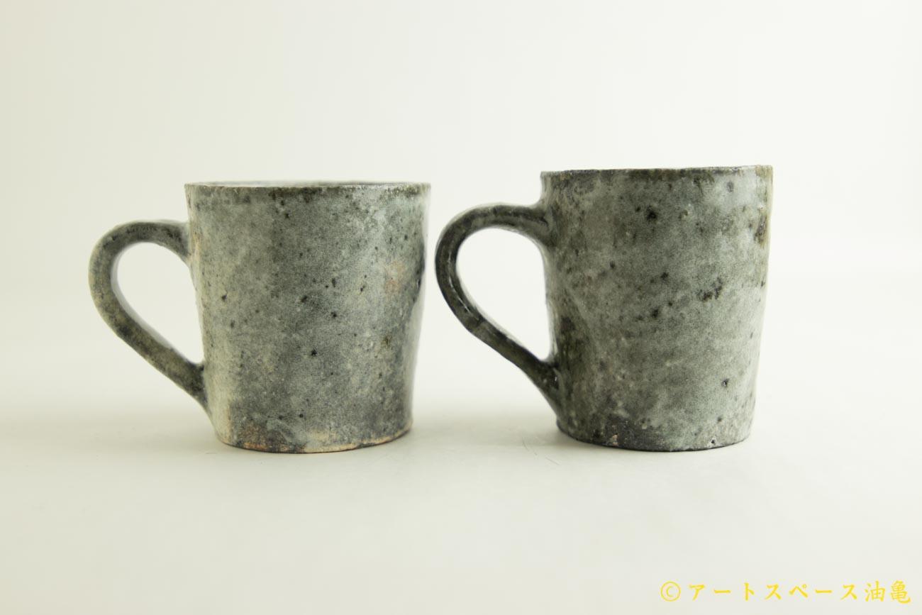画像2: 八田亨「白掛 マグカップ」