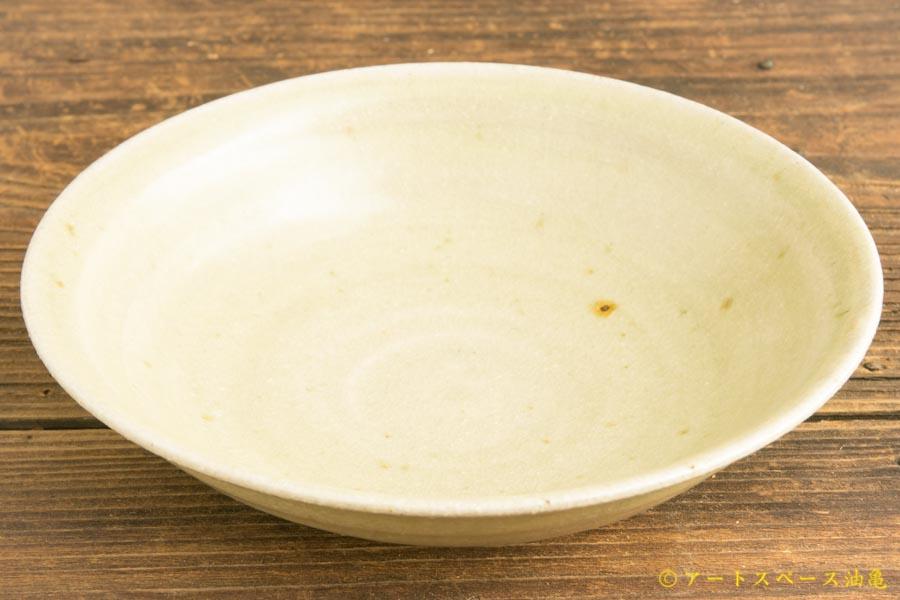 画像1: 林拓児「灰釉 5寸 鉢」