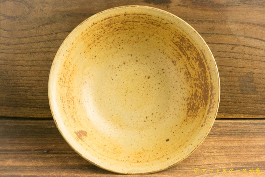 画像3: 林拓児「灰釉 しのぎ鉢」