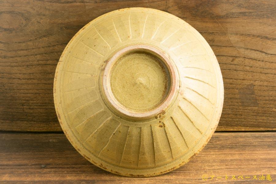画像4: 林拓児「灰釉 しのぎ鉢」