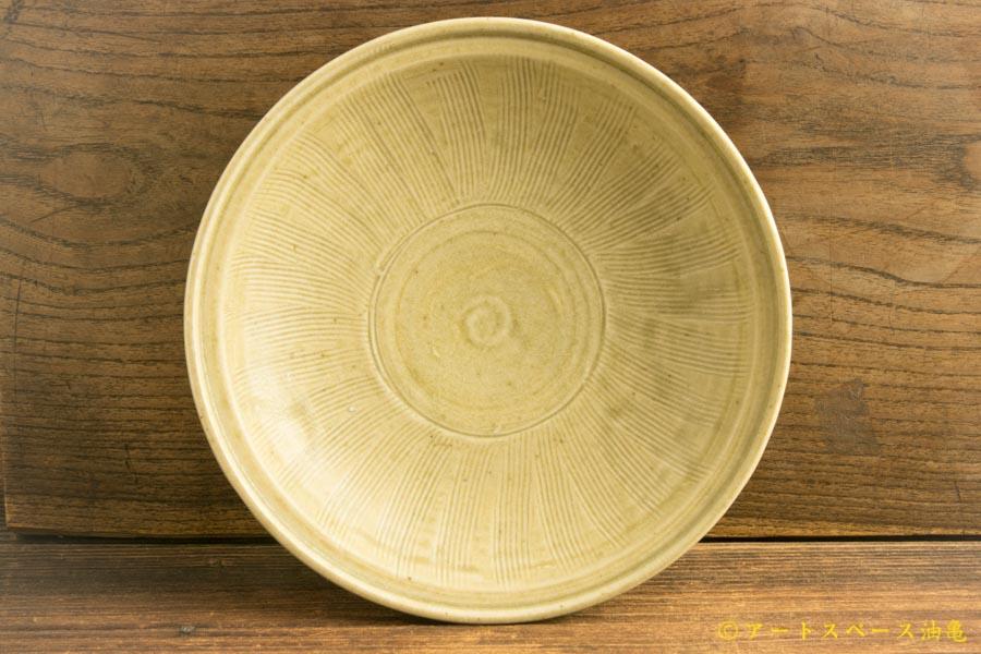画像1: 林拓児「灰釉 くしめ皿」