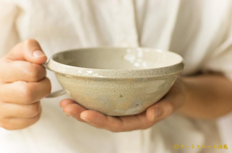 画像4: 林拓児「貫入 スープカップ」