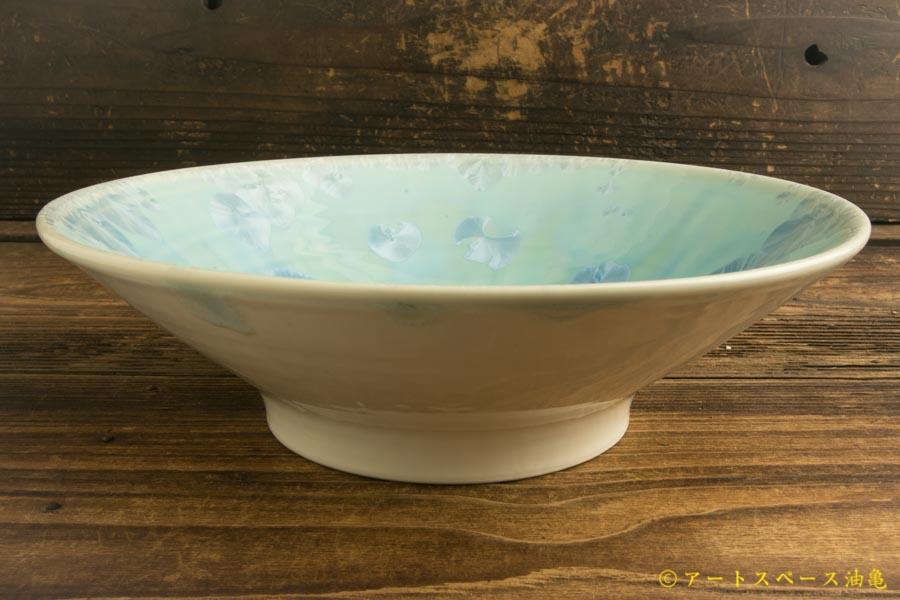 画像3: 間美恵「亜鉛華結晶丸鉢皿」