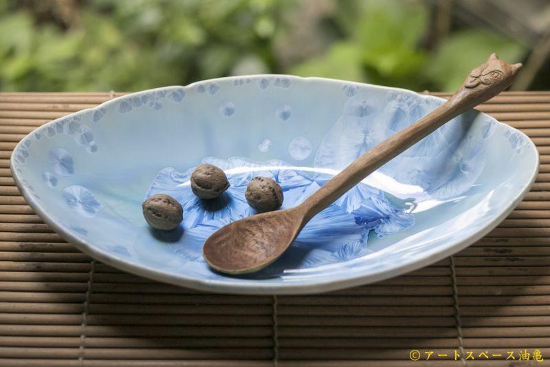 画像1: 間美恵 楕円皿