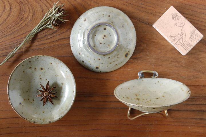 画像2: 平沢崇義「粉引 豆皿」