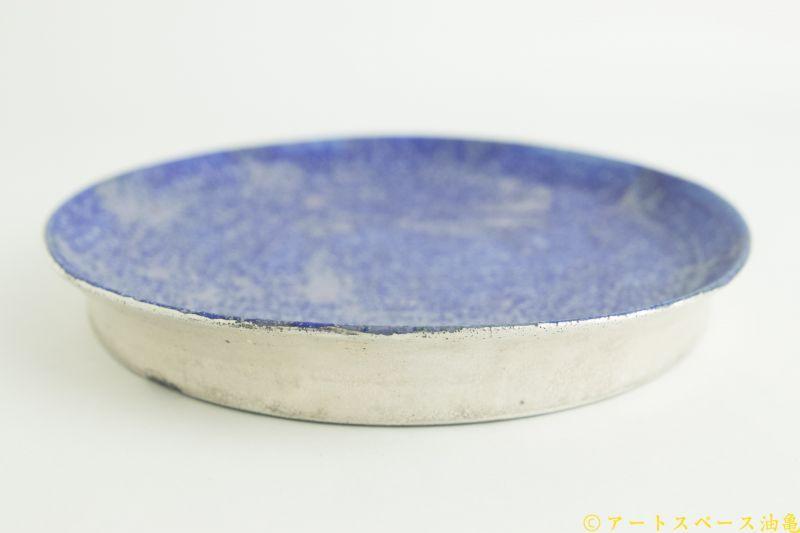 画像4: 本郷里奈「ラピス 銀彩丸皿M」
